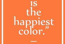 Orange happines
