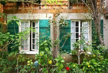 Courtyards and quiet spaces / by Mr & Mrs Smith