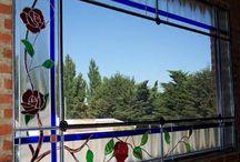 La ñata contra el vidrio... / Algunos de mis trabajos de mis años de vitralista... cómo quisiera volver :) Y algunas obras de otros vitralistas, que encontré por aqui