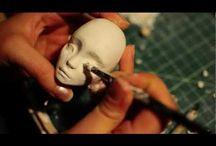 Лепка куклы