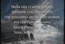 Aforismi di Giulia Torelli / Aforismi e pensieri di Giulia Torelli