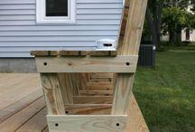 outside bench idea
