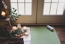 yoga/work room