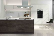 Modern Wood Effect Kitchens