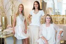 Boutique Revamp! Photoshoot with Marni / Fun photo shoot with the boutique's new principals, Ann E. and Lisa, and Buyer & Manager, Michelle.