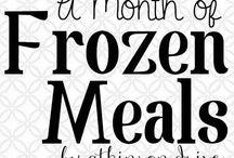 freezer meals / by Emmalea Huff