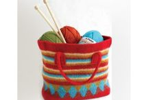 Knitting Bags and Totes