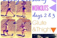 workouts / by Eva