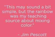Sensational Color Quotes / by Kate | Sensational Color