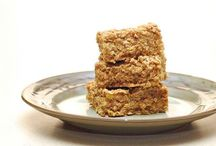Healthy food / Banana oat biscuits