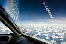 beautiful photo from airplanes or views