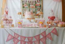 Olivia's 3rd birthday party ideas