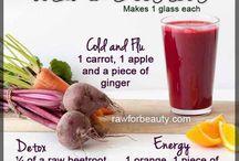 Remedies, recipes