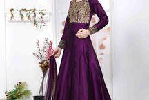 2638 Aanaya 16000 Designer silk salwar suit