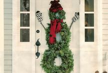 Xmas Decor for Doors/Windows / by Gina Wlaschin
