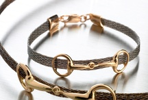 Horsehair bracelets / Jewellery made with your own horse´s hair. Woven ribbons, invented and designed by Nanna Salmi, Finland. Be aware of cheap copies...
