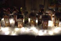 Joulukalentereita luokkaan