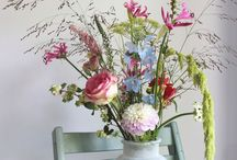 Interior flower displays