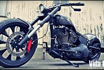 "Softail Harley ""300GT"" Designed by Vida Loca Choppers / Softail Harley 300GT Designed by Vida Loca Choppers in 2009"
