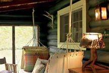 Cabin ideas / by Betsy Feldmann