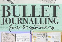 BuJo Stuff / everything bullet journal
