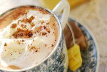 Tea and hot chocolate  time