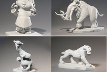 Sculpture / Awesome different and hard sculptures