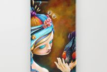 iPhone Cases by Bryan Collins / iPhone cases featuring the art of Bryan Collins