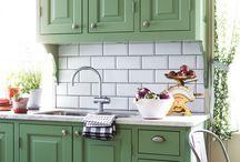 Köket färg