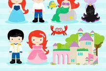 Art & Doodles - Disney - Little Mermaid
