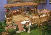 miniature backyard