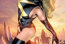 Ms Marvel / Ms Marvel comic art