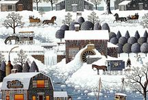 домики деревня