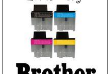 Inkousty do tiskáren / Nabízíme kvalitní Inkousty do tiskáren pro vlastní doplňování patron značek Brother, HP, Canon, Epson a Lexmark. Více se dozvíte zde:   www.supernakup.com/inkousty-do-tiskaren/