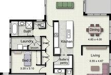 Lakás/ház alaprajzok
