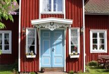 Dream home / Inspiration till framtida bostad.  Underbara, ståtliga, gamla, lantliga, mysiga hus. Lummiga och mysiga trädgårdar. Lantligt och drömmande vackert.