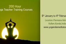 Yoga Teacher Training Courses in India / #YogaTeacherTrainingCourseIndia