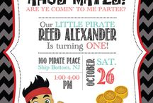Owen's 3rd Birthday Party / A Jake and the Neverland Pirates themed party