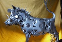 Sculpture- Metal -Steampunk