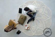crochet rug carpet
