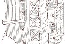 İslami Boyamalar--- Kabe ---Medine--- Ayasofya Camii