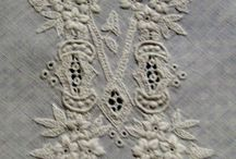 Monogrammes anciens / Old fashion embroidery, French