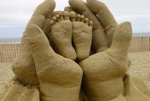 Art: Sand Castles & Sculptures / by Lynne Wedeen