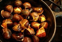 Tuscan chestnut. Castagne e Marroni.