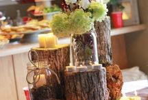 autumn / fall home decoration idea