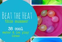KAMOM Summer fun / Summer in the Houston Area is hot.  Here you may find some great ideas to keep your multiples cool and entertained.