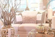 Girly Fall Decor