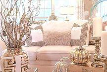 Beyaz ev dekoru