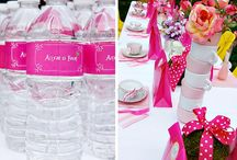 Kids pink party