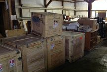 Shipping Crates / HOOD'S in West Alton, Missouri received International Shipping Crates.  These can be used to ship items overseas.  Shipping Crates can also be used for trade show shipping.  Protect your valuables with these Shipping Crates.